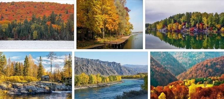 Где теплее всего в России в октябре?
